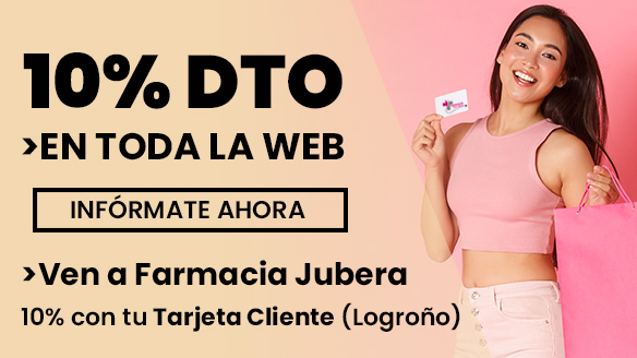 10% de descuento en Farmacia Jubera Logroño y online