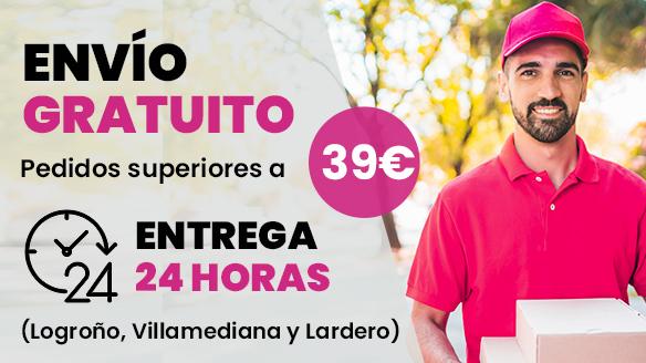 Envío gratis y en el mismo día Logroño